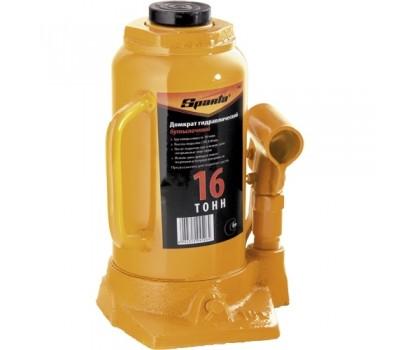 Домкрат гидравлический бутылочный Sparta 220 - 420 мм (16 т)