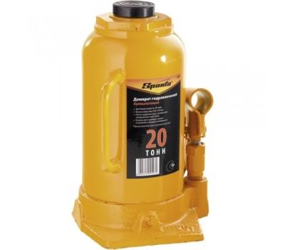 Домкрат гидравлический бутылочный Sparta 250 - 470 мм (20 т)