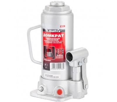 Домкрат гидравлический бутылочный Matrix 230 - 460 мм (10 т)