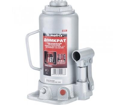 Домкрат гидравлический бутылочный Matrix 230 - 460 мм (15 т)