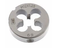 Плашка Сибртех М12 (1.25 мм)