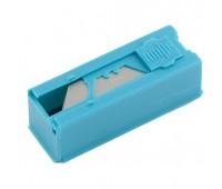 Лезвия трапециевидные Gross в пластиковом пенале 19 мм (12 шт)