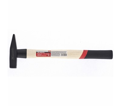 Молоток слюсарний Matrix з квадратним бойком і дерев'яною ручкою (0.2 кг)