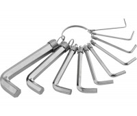 Набір ключів імбусових Sparta HEX 1,5 - 10 мм (10 шт)