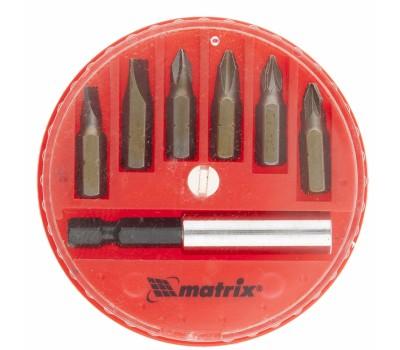 Набор бит Matrix с  магнитным адаптером (7 предметов)