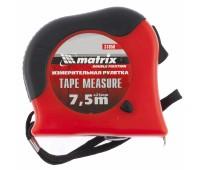 Рулетка Matrix Double fixation в обрезиненном корпусе 7,5 м (25 мм)