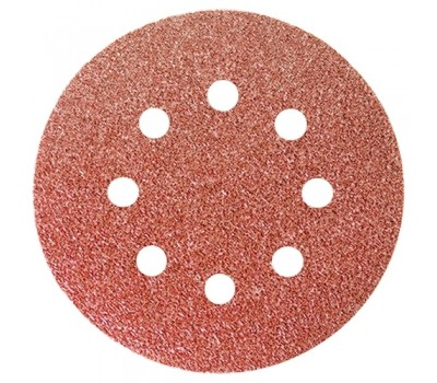 Коло абразивне перфорований Matrix на ворсової основі під липучку P100 125 мм (5 шт)