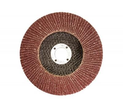 Круг лепестковый Matrix торцевой P60 125 мм