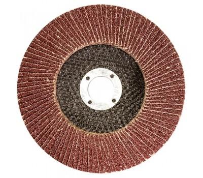 Круг лепестковый Matrix торцевой P60 180 мм