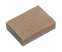 Губка для шлифования, 100 х 70 х 25 мм, мягкая, 3 шт., P 60/80, P 60/1