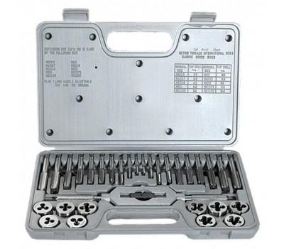 Набір мітчиків і плашок Matrix М3 - М12 (31 предмет)