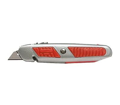 Нож выдвижной Matrix  трапецивидный с лезвием 18 мм (160 мм)