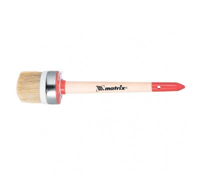 Кисть круглая Matrix Профи натуральная щетина №12 45 мм (деревянная ручка)