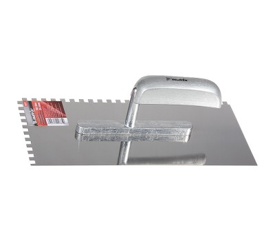 Гладилка з нержавіючої сталі Matrix Master 280 х 130 мм (з зубом 6х6 мм)