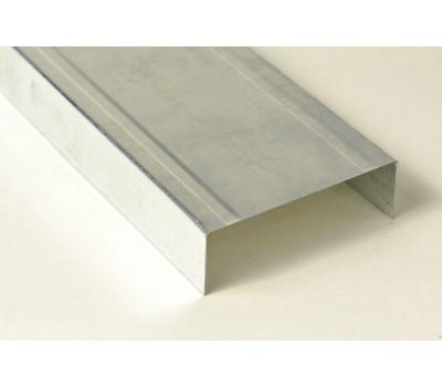 Профиль для гипсокартона UW Направляющий стеновой 75/40 мм 0.55 мм (3 м)