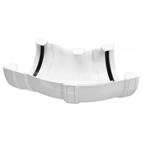 Кут універсальний ринви Regenau D125 (білий) - купити за низькою ... e7feb818d8c00