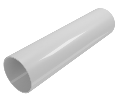 Труба водосточная Regenau D80 (белая)