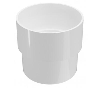 Соединитель водосточной трубы Regenau D80 (белый)