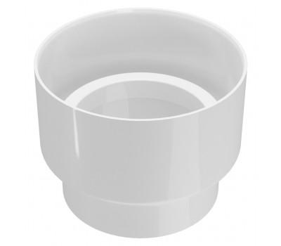 Соединитель водосточной трубы Regenau D100 (белый)