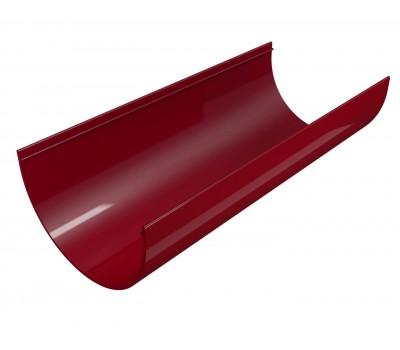 Желоб водосточный Regenau D125 (бордовый)