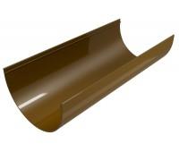Желоб водосточный Regenau D125 (коричневый)