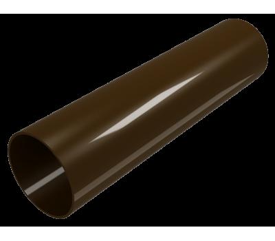 Труба водосточная Regenau D80 (коричневая)