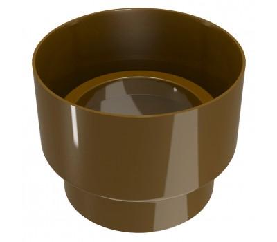 З'єднувач ринви Regenau D100 (коричневий)