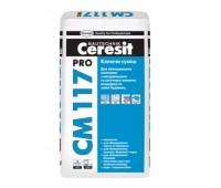 Клей для плитки Ceresit еластичний CM 117 Pro 27 кг