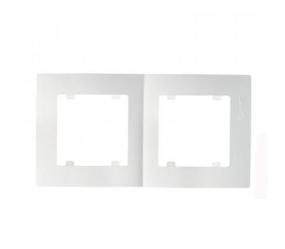 Рамка Makel на 2 сегмента (біла)
