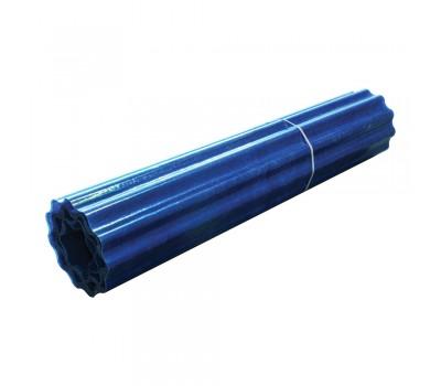 Шифер прозрачный Волнопласт гофрированный 2 x 10 м (голубой)