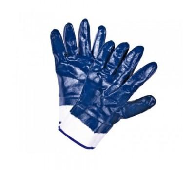 Перчатки рабочие Doloni нитриловые с полный обливом и краги манжетами
