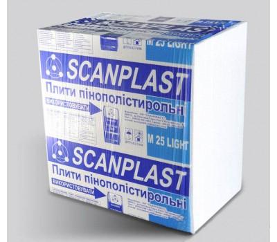 Пенопласт Scanplast ПСБС-25 40 мм (1 x 1 м)