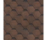 Битумная черепица Технониколь Shinglas Финская соната (коричневая)