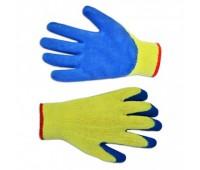 Перчатки рабочие Technics трикотажные с латексным покрытием