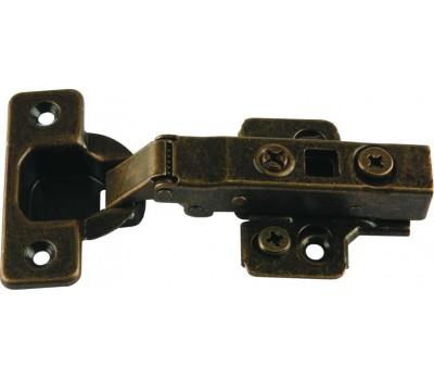 Петля для полунакладной двери Teko Clip-On с доводчиком и съемной планкой H=0 110°