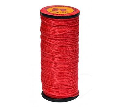 Нить капроновая красная 40 м (10 шт)
