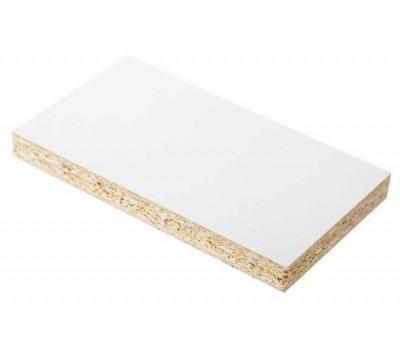 Плита ДСП ламинированная Kronospan 2750 x 1830 x 18 мм (0101 Белый Фасадный PE)