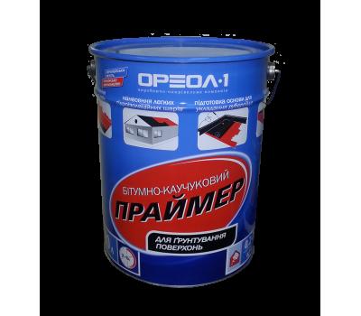 Праймер битумно-каучуковый на растворителе Ореол 10 л