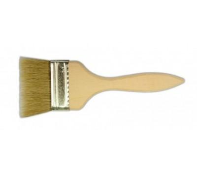 Кисть флейцевая 102 мм (деревянная рукоять)