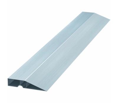 Правило алюминиевое Сибртех Трапеция 1,0 м (2 ребра)