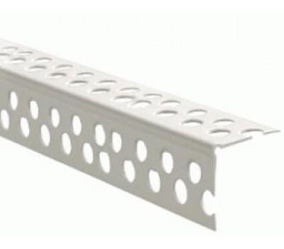 Уголок пластиковый перфорированный 70 мм (3 м)