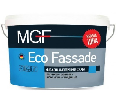 Краска MGF Eco Fassade фасадная 3.5 кг
