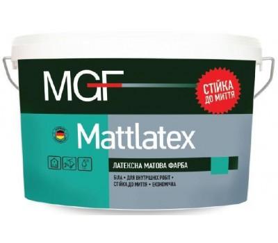 Краска MGF Mattlatex латексная 1.4 кг
