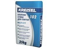 Клей для плитки Kreisel Multi 102 морозостійкий 25 кг