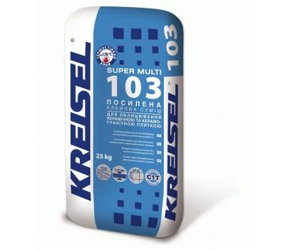 Клей для плитки Kreisel Super Multi 103 усиленный 25 кг