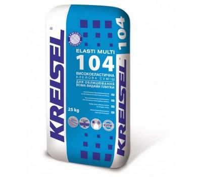 Клей для плитки Kreisel Elasti Multi 104 25 кг