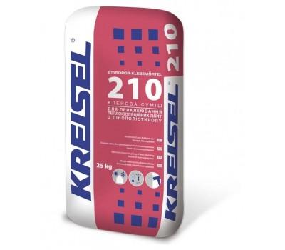 Клей для пінополистирола Kreisel Styropor-Klebemortel 210 25 кг