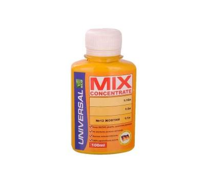 Колорант MIX concentrate 12 желтый (100 мл)
