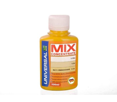 Колорант MIX concentrate 11 лимонный (100 мл)