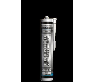 Герметик силиконовый Монтажник универсальный 280 мл (белый)